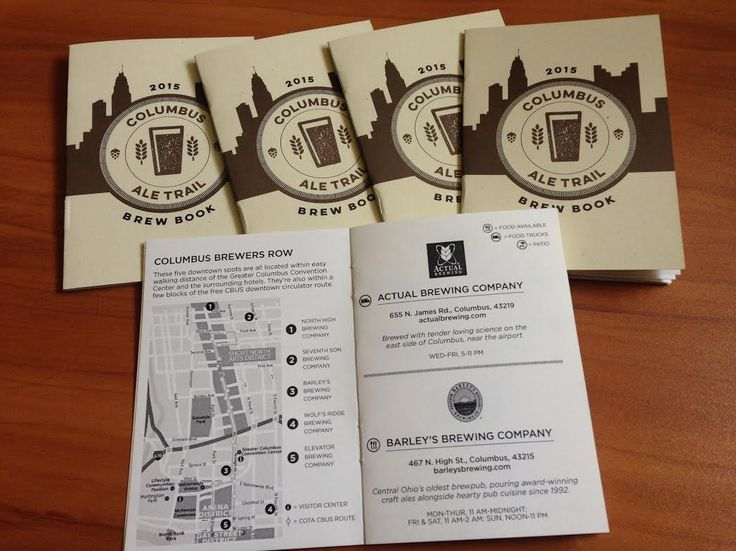 Bill birthday or Christmas gift.  enjoy some fantastic craft beer along the Columbus Ale Trail. The trail features over 37Central Ohio breweries, and you can mark off your visits in the Columbus Ale …