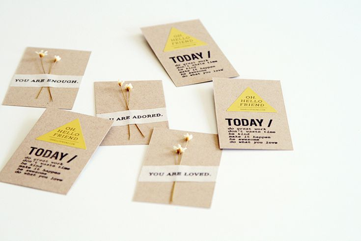 you are ... business cards: - oh, hello friend: you are loved.