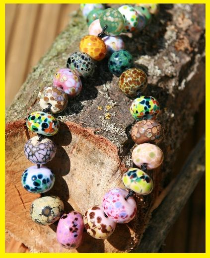 Check out our individually handmade lampwork beads. Just the thing to make you own creations UNIQUE.