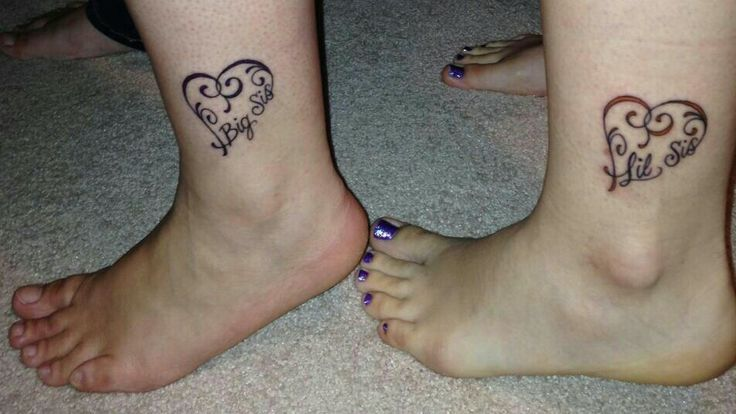 Big Sis Lil Sis Tattoos