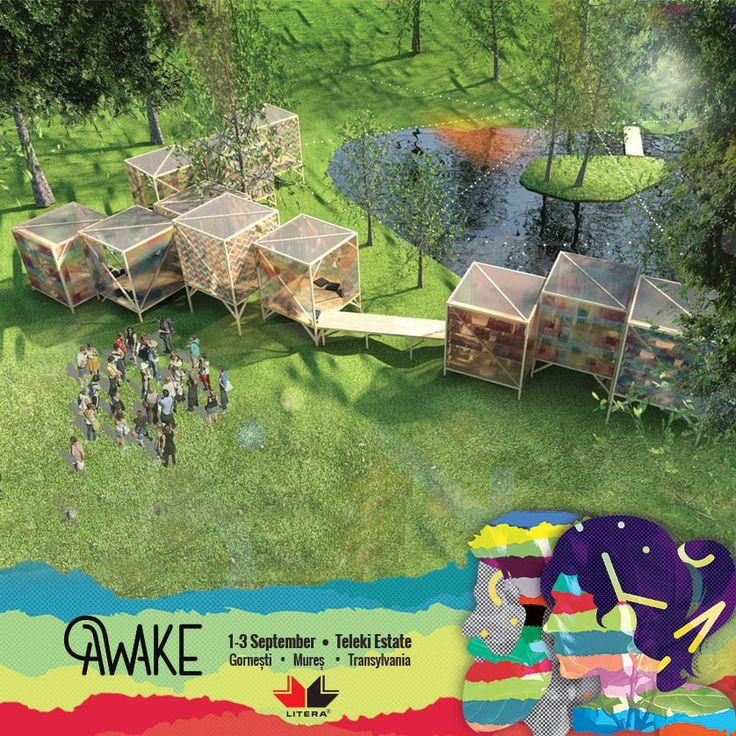 Forest Library la AWAKE Festival  – simbol al primei biblioteci publice din Transilvania