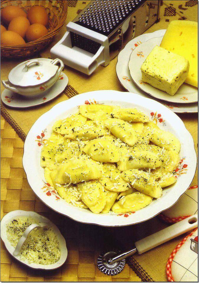 Cyprus Gastronomy Homemade Ravioli