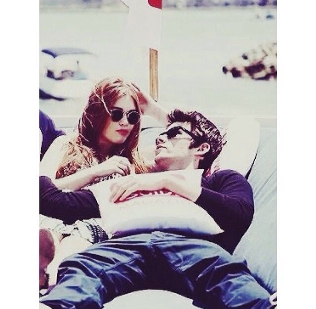 Dylan O'Brien & Holland Roden ❤️.