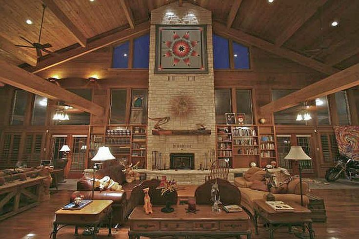 Texas hill country style luxury ranch home with 30 39 x 64 for Texas hill country style