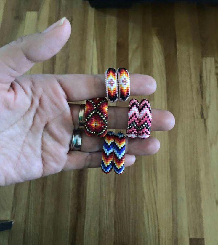 813 best BeadsX3 images on Pinterest | Bead jewellery, Native ...