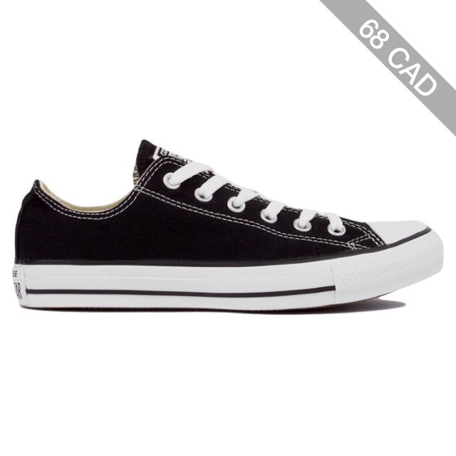 Converse Women's Chuck Taylor All Star Classic Low Top Ox Sneakers - Black