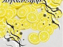 160 slices / lemon slices fimo