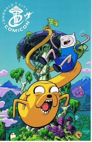ADVENTURE TIME Comics #1 Emerald City Con ECCC Chris Samnee VARIANT $19.99