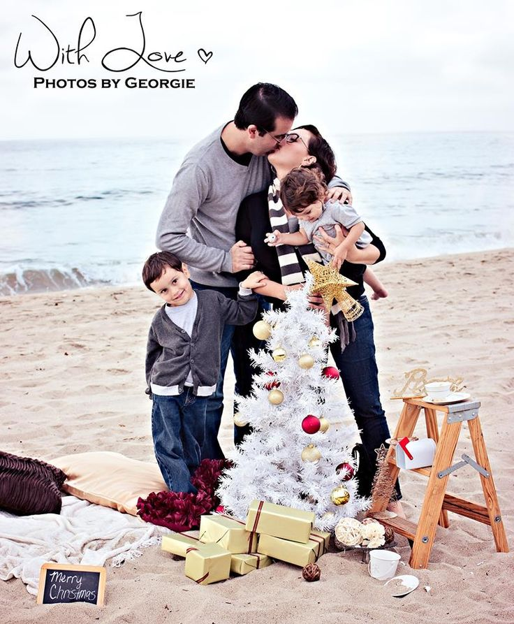 Family Christmas Beach Picture Christmas Beach Photos Ideas