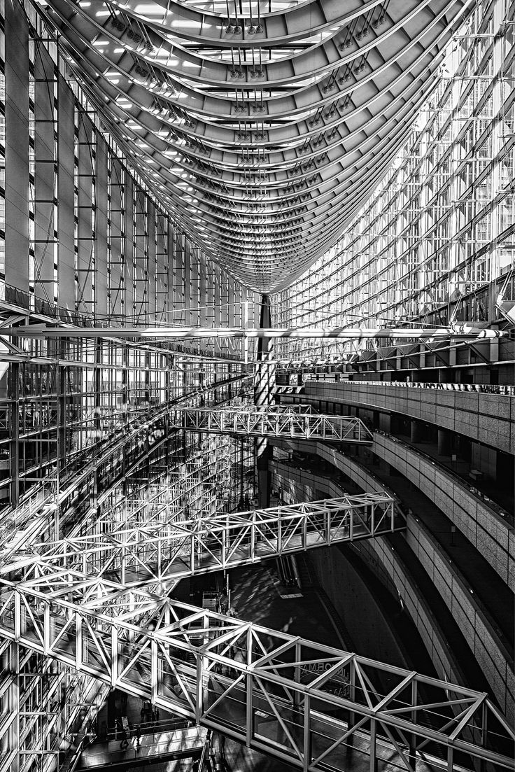 Photographer Manuela Martin - Tokyo International Forum - Rafael Viñoly