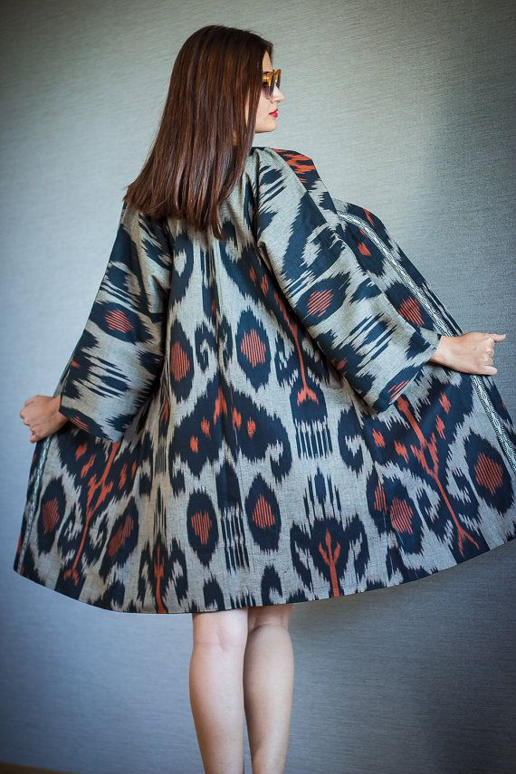 Camela by My Adras handwoven adras coat by Myadras on Etsy