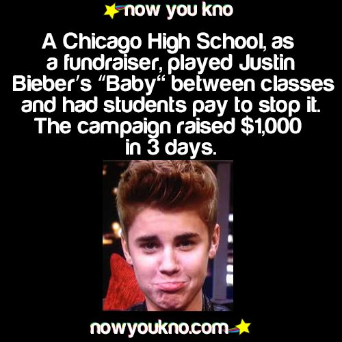 Great idea for a middle school fundraiser! I'm guessing that the teachers foot the bill on this one. :)