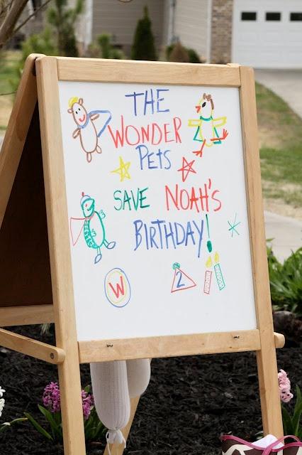 Noah's 2nd Birthday! Wonder Pets Theme party ideas