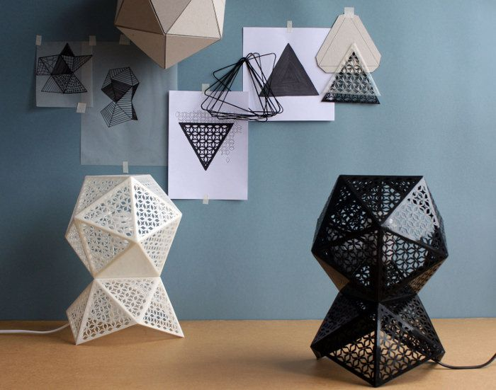 Collection luminaires Altitudes par le studio Maxwen
