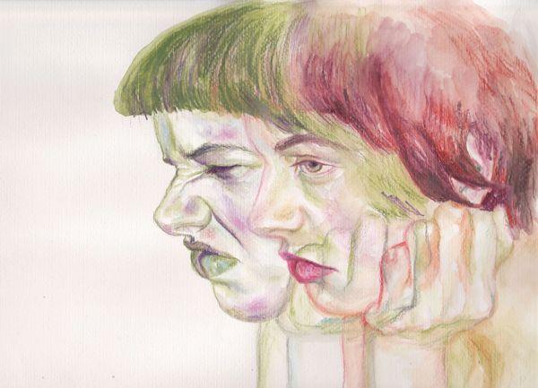 Sister  by Timea Mitroi, via Behance