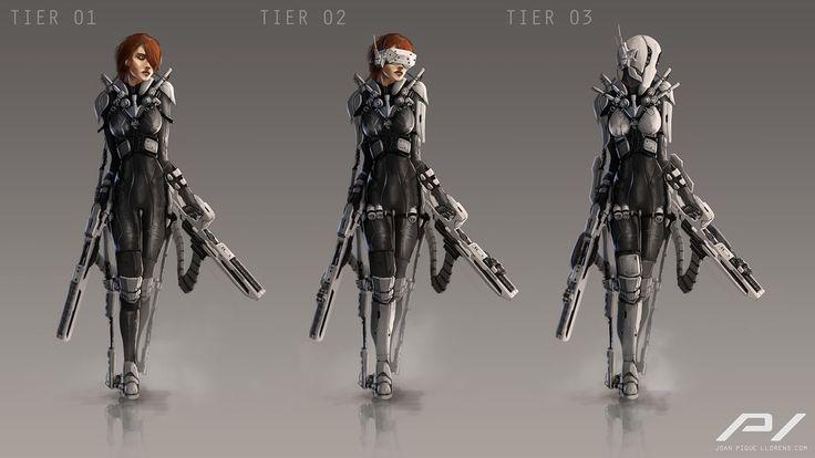 Tactical Suit Concept by JoanPiqueLlorens.deviantart.com on @DeviantArt