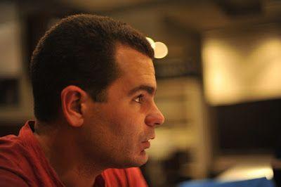 RAMÓN GRAU. Director of Photography: Felicidades Rafa Mesa . Rodando . Barcelona 2010