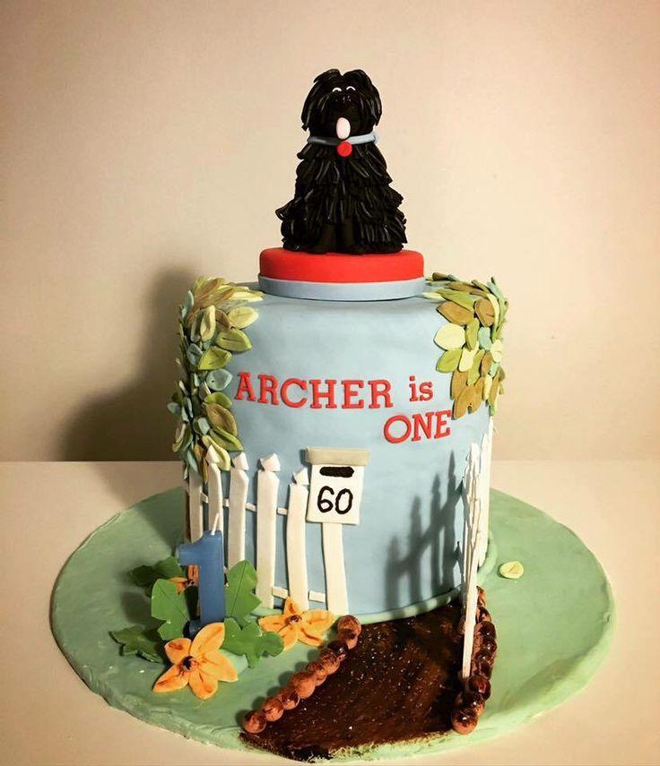 Hairy Maclary cake