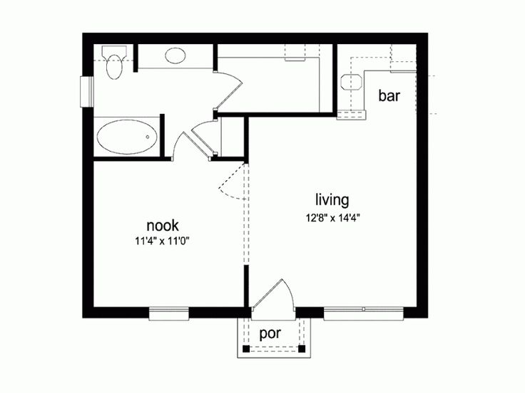 25 best ideas about guest cottage plans on pinterest for Eplans floor plans
