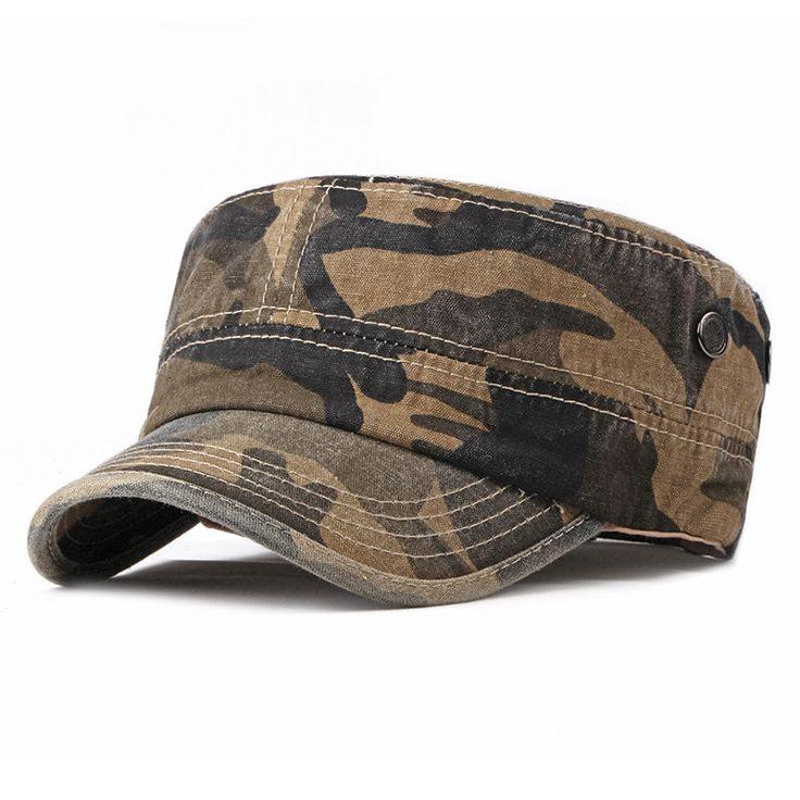Fibonacci Classic Men Women Caps Army Cadet Military Hats Patrol Hats Flat Top