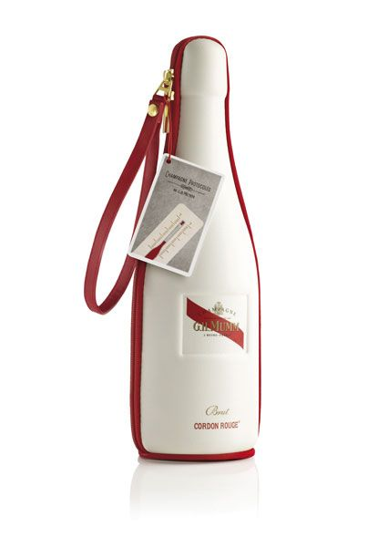 MUMM Cordon Rouge Champagne, christmas limited edition | packaging