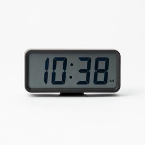 Muji - Digital Clock w/ Alarm - Medium - Black
