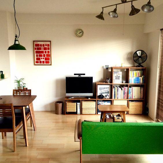 本棚のあるおしゃれ部屋のコーデ、ニトリ&IKEA&通販アイテムでリーズナブルに叶えてみませんか!? | folk