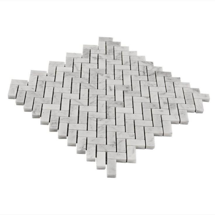 1000 Ideas About Herringbone Marble Floor On Pinterest
