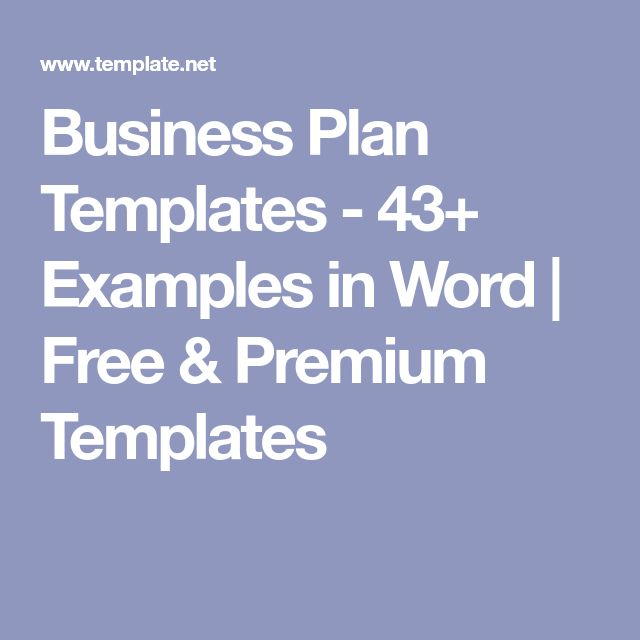 The 25+ best Business plan template word ideas on Pinterest - microsoft word action plan template