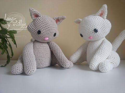 Amigurumi Gato Negro : 110 best gatos amigurumi images on pinterest amigurumi patterns
