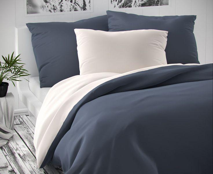 Luxusné saténové obliečky obojstranné, na jednej strane šedé na druhej biele. Obliečky sú veľmi vysokej kvality ušité od známeho českého výrobcu.