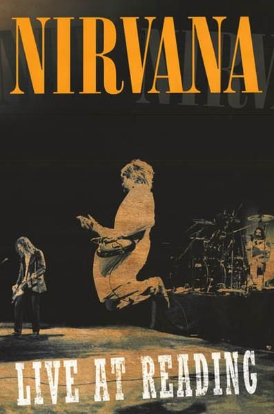 An awesome poster of Kurt Cobain, Krist Novoselic, and Dave Grohl of Nirvana rocking the Reading Festival in England in 1992! Published in 2013. Fully licensed.