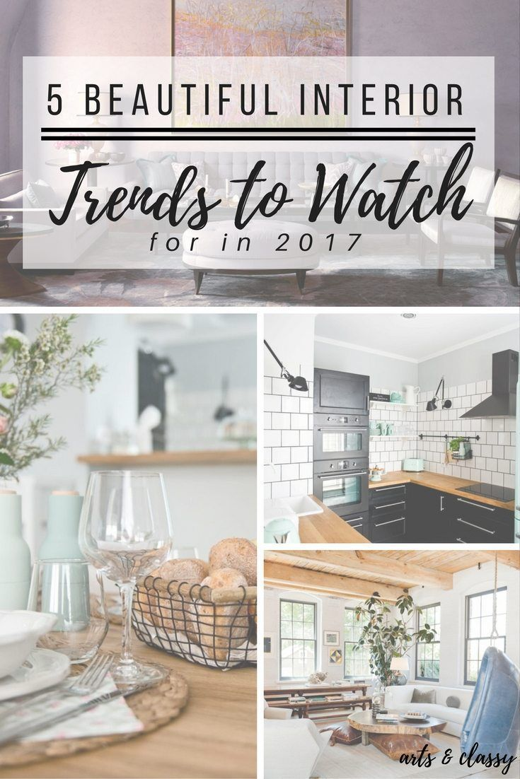 Best 58 2017 Interior Design Trends Images On Pinterest