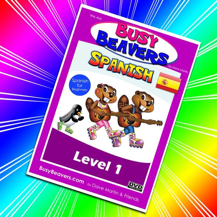 Busy Beaver, Learn To Speak Spanish, Beavers, Have Fun
