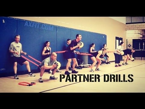 Partner Workouts | Circuit Training | Tips & Tricks.  Some sweet band exercises