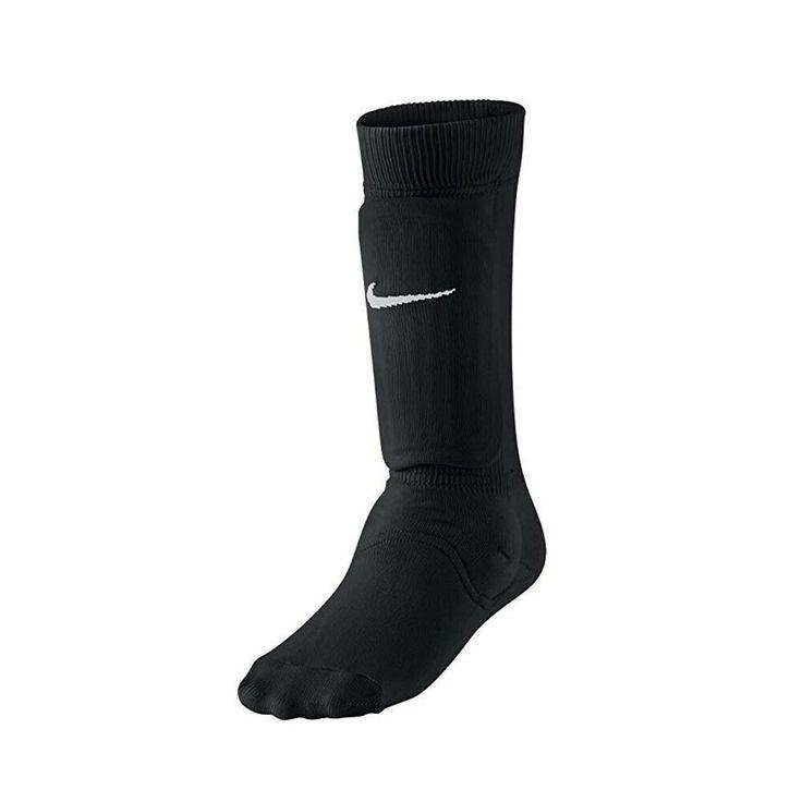 Nike kids unisex shin sock sleeve blackwhite medium