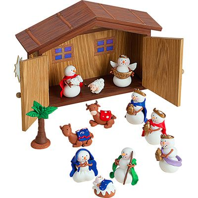 Image result for weird nativity scenes