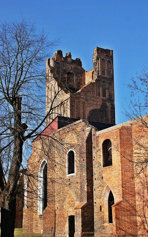 Głogów, ruiny kościoła