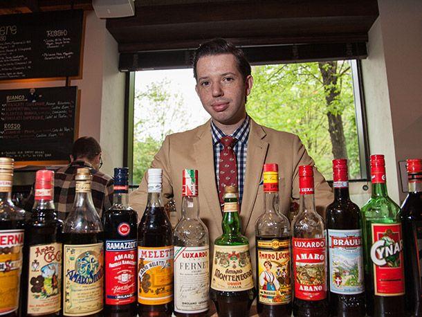 We Chat Amari with Maialinou0027s Bar Manager, Erik Lombardo Serious - bar manager