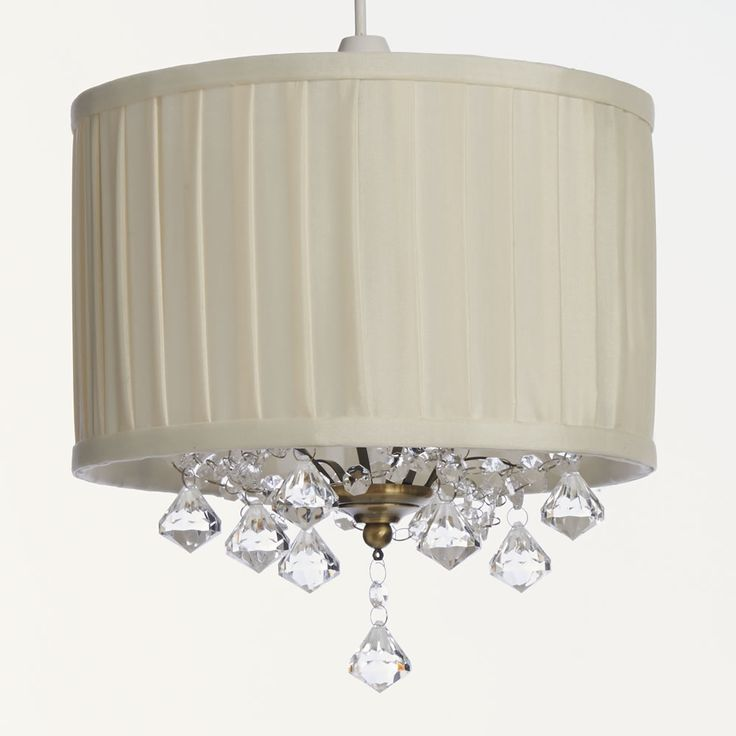Wilko traditional jewelled pleated shade