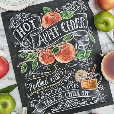 Apple Cider Print