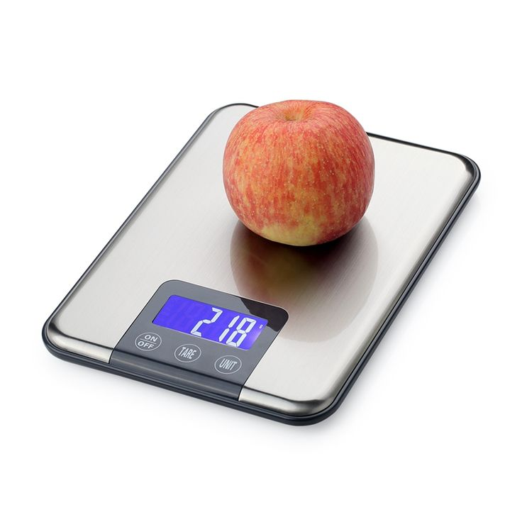 15KG LCD Electronic Kitchen Scales 15kg 1g Stainless Steel Diet Food Digital Scale Touch Grams Weighing Balance Blue Backlight