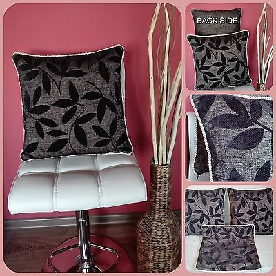 "Set of 3PCs 18"" Luxury Decorative Home Decor Throw Pillow Case Cushion Cover"