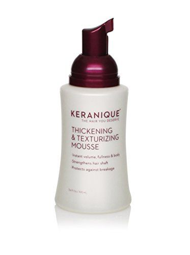 Keranique Thickening & Texturizing Mousse, 3.4 fl. oz.  //Price: $ & FREE Shipping //     #hair #curles #style #haircare #shampoo #makeup #elixir