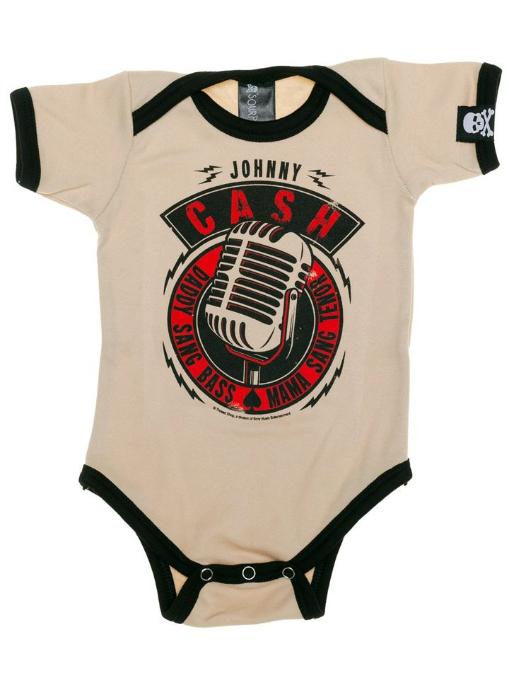 From one of the most loved Johnny Cash songs comes this brand new Sourpuss kids one piece