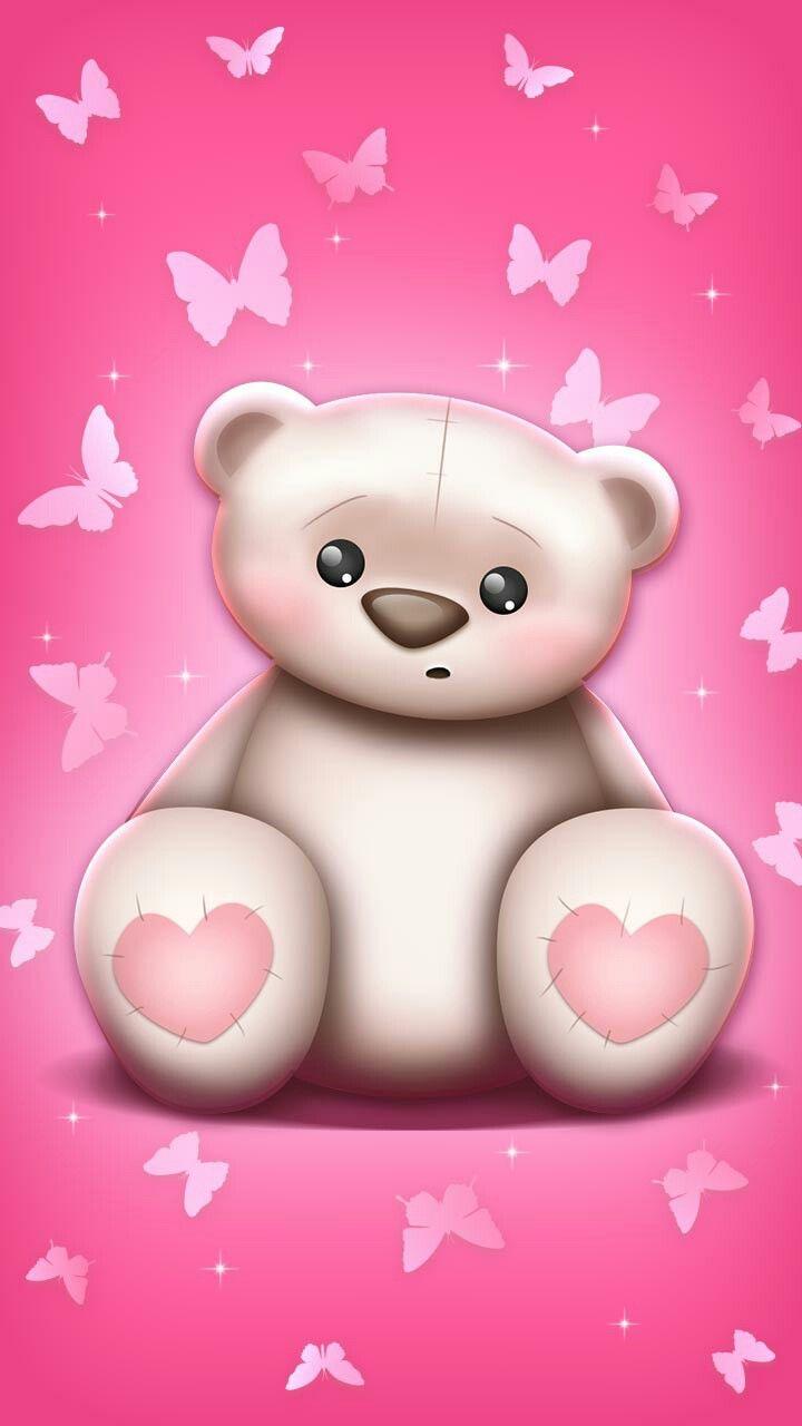 Pin By Judy Charline On Cute Cute Teddy Bear Wallpaper Cute Wallpapers For Ipad Bear Wallpaper