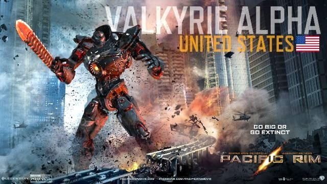 Valkyrie Alpha - USA #pacificrim