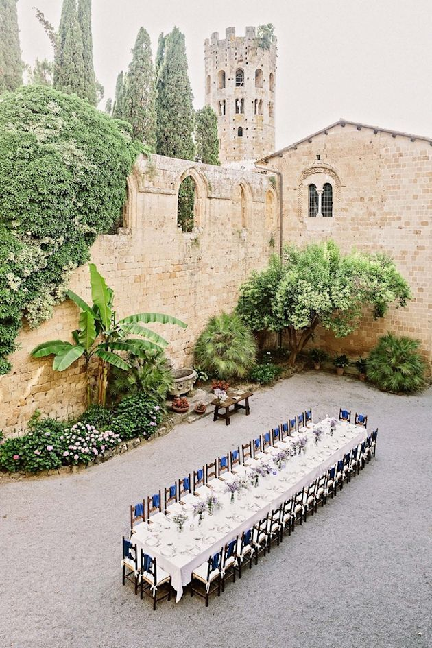 La Badia Orvieto | Intimate Italian Castle Wedding | Facibeni Fotografia | Bridal Musings