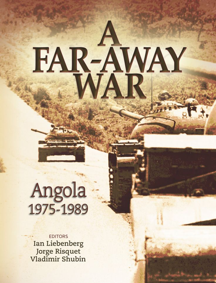 "1975-1989 ANGOLA: South Africa's armed forces invaded Angola in 1975, setting off a war that had consequences for the region that are still felt today. 'A Far-Away War'  contributes to a wider understanding of this war in Angola & Namibia. The book does not only look at the war from an ""old"" South African (Defence Force) perspective, but also gives a voice to participants ""on the other side"" – emphasising the role of the Cubans & Russians."