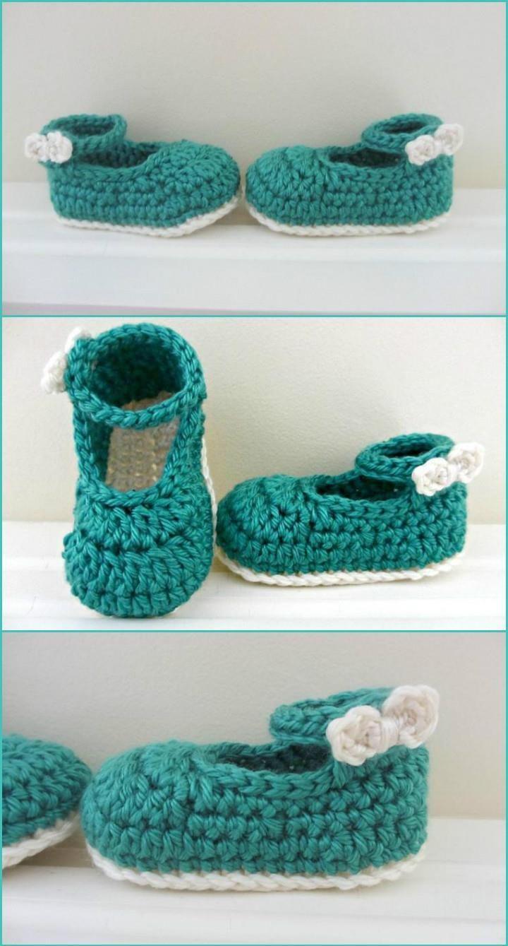 Crochet Baby Booties Top 40 Free Crochet Patterns Sew Knit